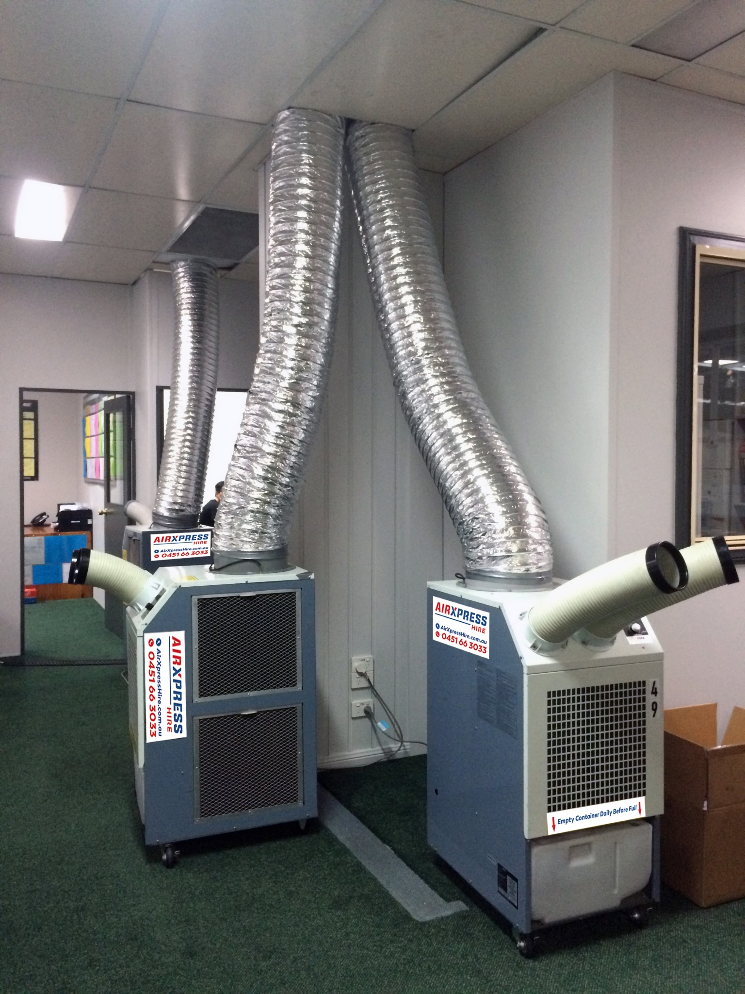 Industrial Air Conditioner : Kwportableaircondtioner lowres airxpress hire