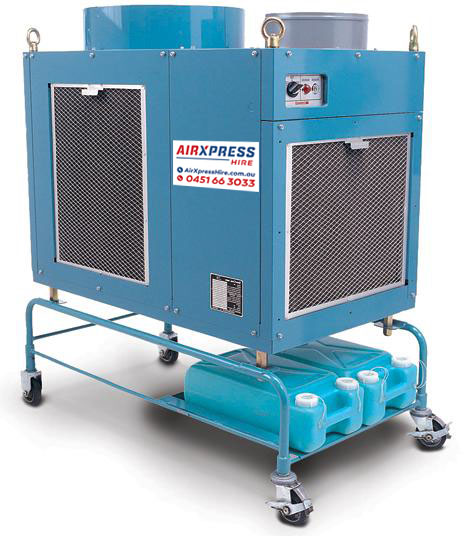 10kw Commercial Portable Air Conditioner Airxpress Hire