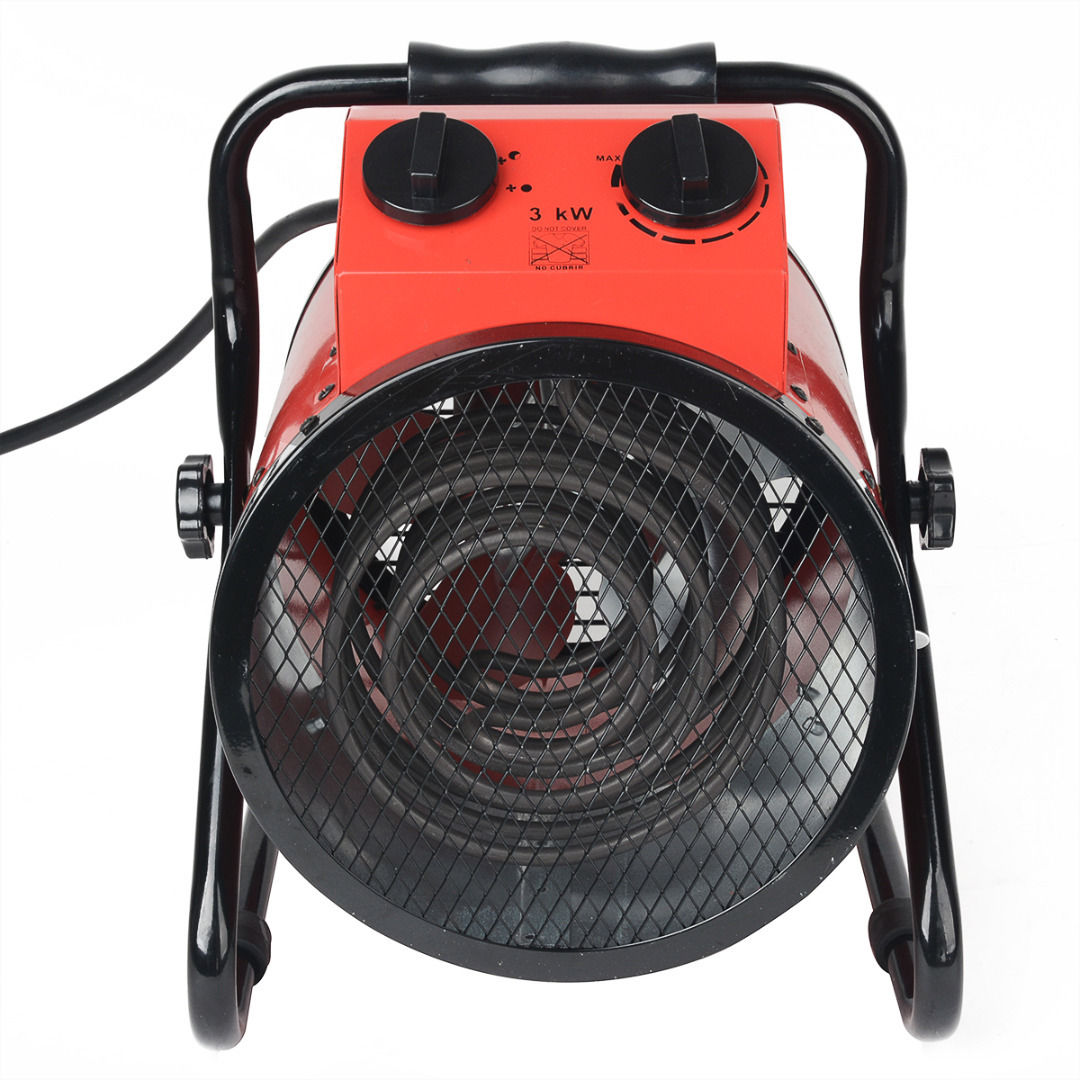 3000w Portable Electric Industrial Heater Airxpress Hire Wiring A Space