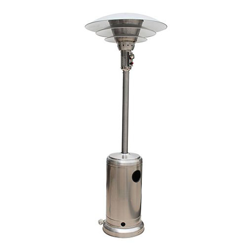 Outdoor Patio Mushroom Gas Heater With Multi Reflector